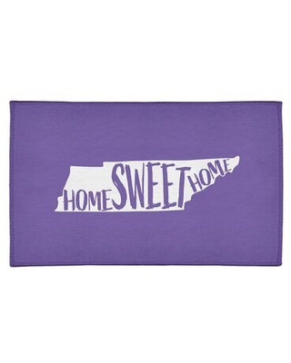 Home Sweet Tennessee Poly Chenille Rug East Urban Home Rug Size: Rectangle 5' x 7'