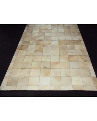 Modern Rugs Patchwork Ivory Box Area Rug patchw5-110 Rug Size: Rectangle 6' x 9'