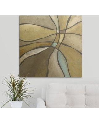 """Great Big Canvas 'Desert Oasis I' Megan Meagher Painting Print 1395078_1_ Size: 35"""" H x 35"""" W x 1.5"""" D Format: Canvas"""