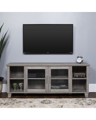 Amazing Deals On Manor Park Columbus Transitional Tv Stand For Tvs Up To 65 Grey Wash
