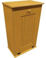 Rebrilliant Manual Solid Pull Out Trash Can in Small REBR2066 Color: Old Gold