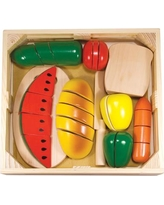 Melissa & Doug 31 Piece Cutting Food Box Play Set 487