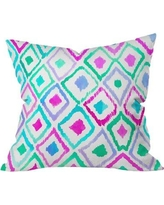 """Deny Designs Watercolor Outdoor Throw Pillow 14026-thrpi Size: 16"""" H x 16"""" W x 5"""" D"""
