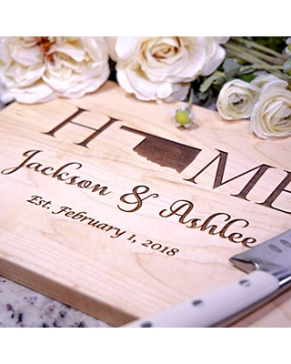 Housewarming Gifts - Gift for new Homeowner - Personalized Cutting Board!