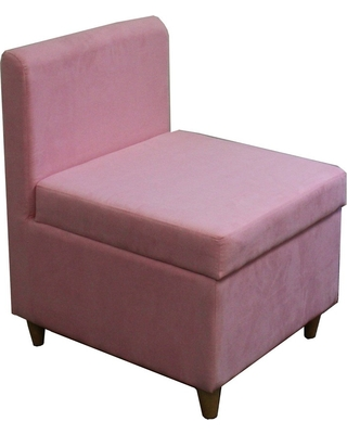 Accent Chair with Storage Pink - Ore International