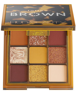 HUDA BEAUTY Brown Obsessions Eyeshadow Palette, One Size , Toffee
