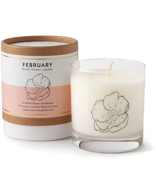 February - Strong & Robust Primrose - Birth Month Flower Candles