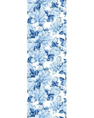 """Bungalow Rose Krawczyk Removable Watercolor Peonies 10' L x 25"""" W Peel and Stick Wallpaper Roll BI182720"""