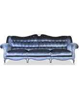 Annibale Colombo L'Excellence 3 Seater Sofa AC-A1521/3 - Upholstery: Blue