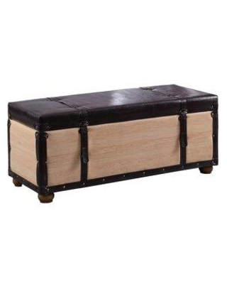 Amazing Sales On Millwood Pines Donita Upholstered Storage Bench X111269857