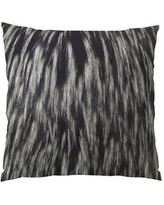"""Plutus Brands Wolf Fur Handmade Throw Pillow PPTS2541 Size: 20"""" H x 20"""" W"""