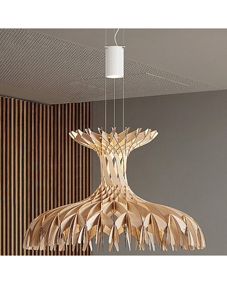Amazing Sales On Bover Dome Led Pendant Light Color Wood Tones Size Medium