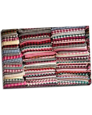 Bloomsbury Market 'Cambodian Scarves' Photographic Print on Wrapped Canvas BI046008