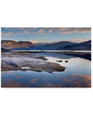 "Millwood Pines 'Mountain Rustic Norway 30' Photographic Print on Wrapped Canvas MIPN1783 Size: 16"" H x 24"" W x 2"" D"