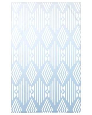 """Fishbones Fleece Throw Blanket e by design Size: 60"""" L x 50"""" W x 0.5"""" D, Color: Washed Out"""