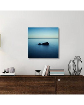 """East Urban Home 'Zen' Photographic Print On Wrapped Canvas ERNH1986 Size: 30"""" H x 30"""" W x 1.5"""" D"""