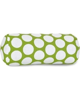 Majestic Home Goods Round Cotton Bolster Pillow 8590721202 Color: Hot Green