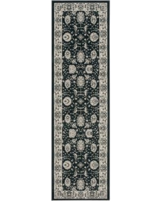 """Alcott Hill Lamarche Woven Charcoal Area Rug ACOT8006 Rug Size: Runner 2'2"""" x 7'6"""""""
