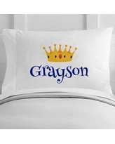 4 Wooden Shoes Personalized Prince Toddler Pillow Case WF-12-119