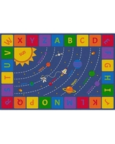 Learning Carpets Solar System Rug Large Rect 12' X 8' CPR3014