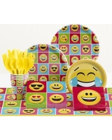 Creative Converting 81 Piece Show Your Emotions Birthday Paper/Plastic Tableware Set DTC2328E2A