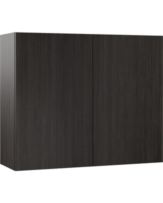 Hampton Bay Designer Series Edgeley Assembled 36x30x12 in. Wall Kitchen Cabinet in Thunder