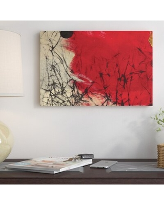 Amazing Deals On Glow Painting Print On Wrapped Canvas East Urban Home Size 18 H X 26 W X 1 5 D