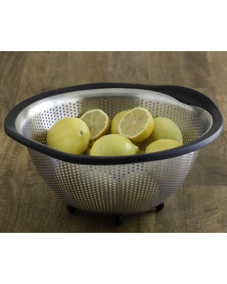 OXO Stainless-Steel Colander, 5-Qt.