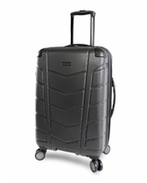 """Perry Ellis Tanner 29"""" Spinner Luggage - Charcoal"""