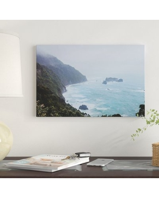 'New Zealand IV' by Luke Anthony Gram Graphic Art Print on Wrapped Canvas