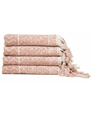 Shop For Union Rustic Hitit Luxury 4 Piece Turkish Cotton Hand Towel Set Turkish Cotton In Pink Ivory Wayfair 4c3e69783ce14ac5ad29a93b000d58f1