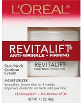 L'Oreal Paris Revitalift Anti-Wrinkle + Firming Face/Neck Contour Cream 1.7oz