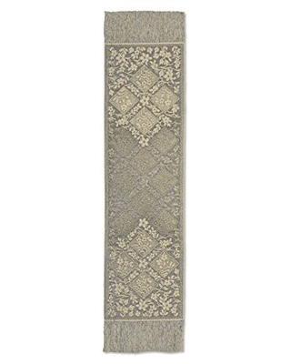 """Heritage Lace Chantilly Table Runner, 66""""x14"""", Gold"""