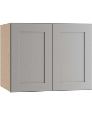 Amazing Deals On Home Decorators Collection Tremont Assembled 30 X 24 X 24 In Plywood Shaker Deep Wall Kitchen Cabinet Soft Close In Painted Pearl Gray Gray Painted