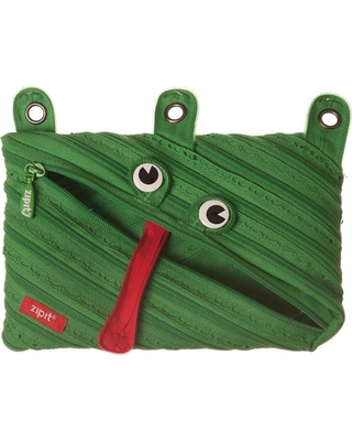 Zipit Animals 3 Ring Pouch - Frog