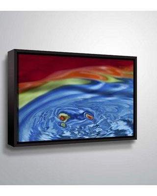 """Ebern Designs 'The Keys to Freedom' Graphic Art Print on Canvas BI128257 Size: 8"""" H x 12"""" W x 2"""" D Format: Floater Frame"""