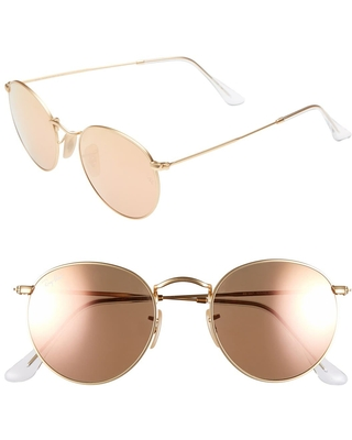 Women's Ray-Ban Icons 50mm Sunglasses - Brown/pink