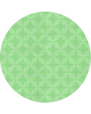 East Urban Home Wool Green Area Rug X113154832 Rug Size: Round 5'