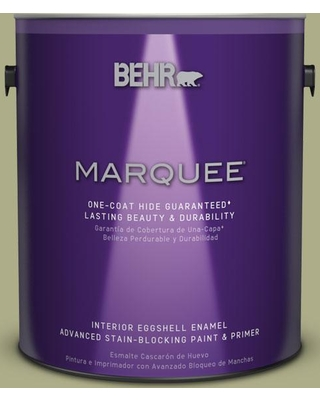 BEHR MARQUEE 1 gal. #PPU9-21 Sanctuary One-Coat Hide Eggshell Enamel Interior Paint and Primer in One
