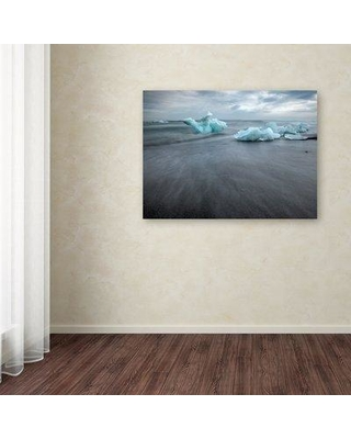 """Millwood Pines 'Iceland 82' Photographic Print on Wrapped Canvas MIPN1852 Size: 24"""" H x 32"""" W"""