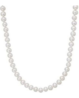 Belk & Co. Gold 14K Yellow Gold and Freshwater Pearl Strand Necklace
