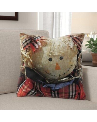 Shop Deals For The Holiday Aisle Neilson Thanksgiving Doll Indoor Outdoor Throw Pillow Polyester Polyfill Polyester Polyester Blend In Brown Size 18x18 Wayfair