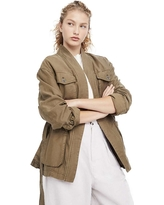 Free People Women's In Our Nature Jacket - Large - Moss
