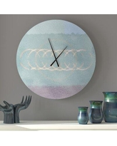 New Deal For Ebern Designs Adowlfe Wall Clock X112425525 Size Small