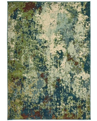 Avalon Home Danica Abstract Distressed Area Rug or Runner, Multiple Sizes