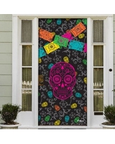 The Holiday Aisle Day of The Dead Halloween Front Door Mural BF154509