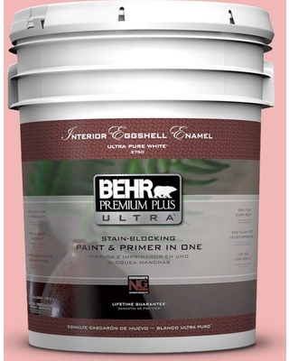 BEHR Premium Plus Ultra 5 gal. #P170-2 Old Flame Eggshell Enamel Interior Paint and Primer in One