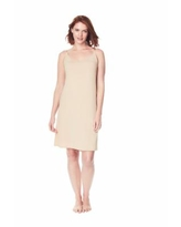 Women's Full Microfiber Slip by Comfort Choice In Nude (Size 34/36)