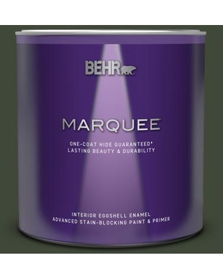 BEHR MARQUEE 1 qt. #PPF-54 Trellised Ivy Eggshell Enamel Interior Paint and Primer in One