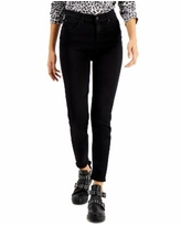 Celebrity Pink Juniors' High-Rise Skinny Ankle Jeans - Black